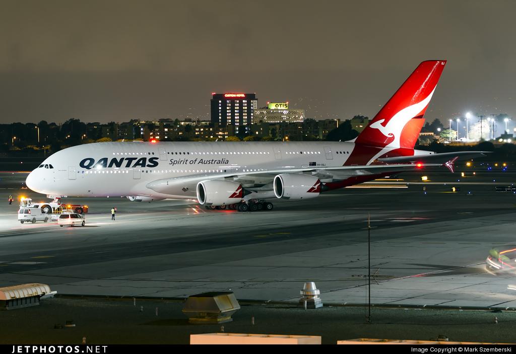 Photo of VH-OQJ Airbus A380-842 by Mark Szemberski