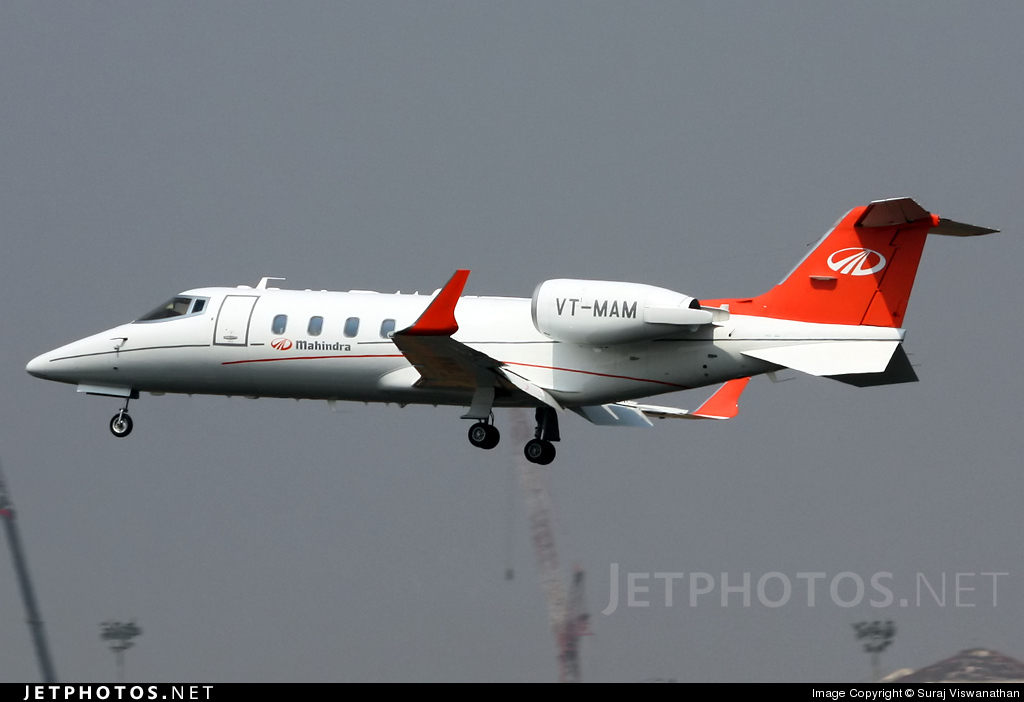 Photo of VT-MAM Bombardier Learjet 60XR by Suraj Viswanathan