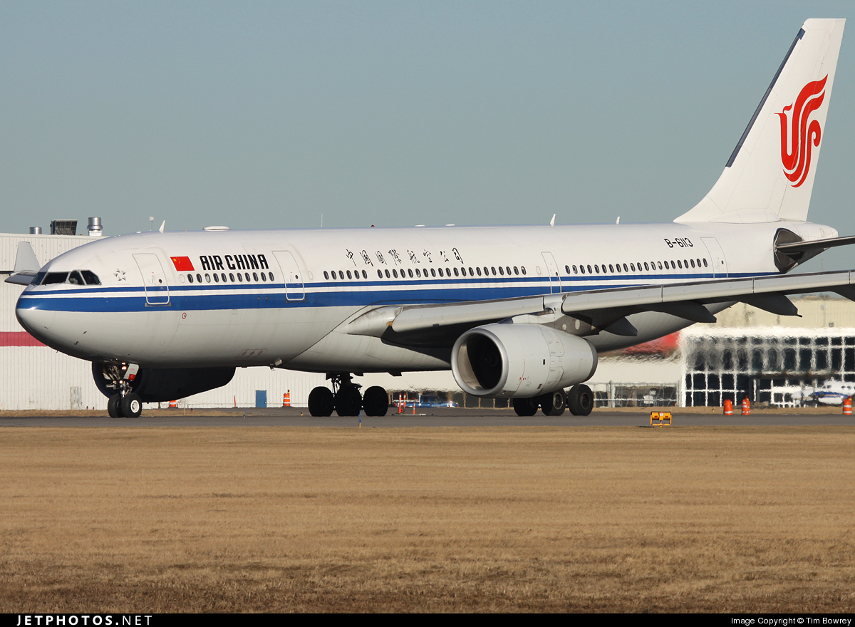 Photo of B-6113 Airbus A330-243 by Tim Bowrey