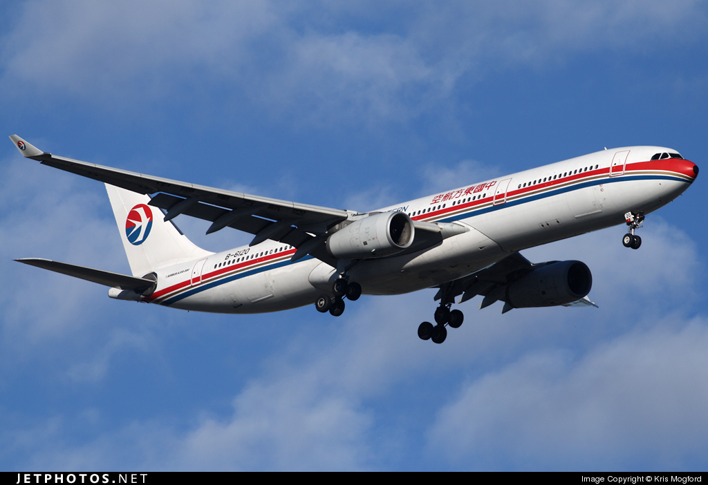Photo of B-6120 Airbus A330-343 by Kris Mogford