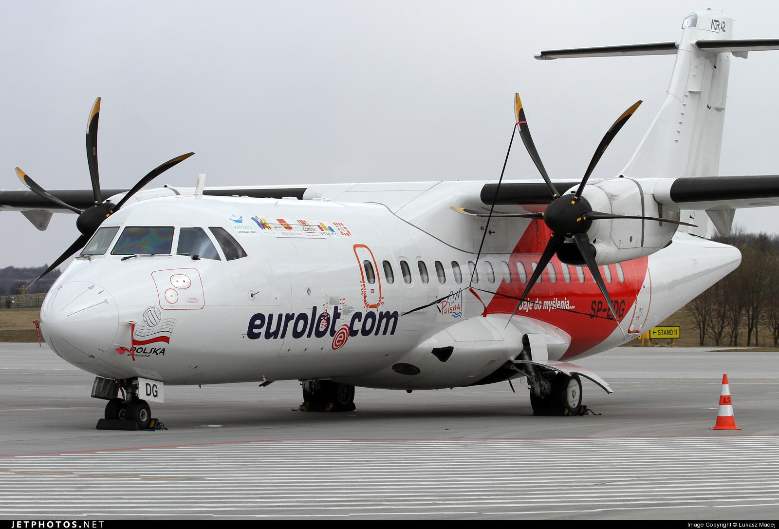 Photo of SP-EDG ATR 42-500 by Lukasz Madej