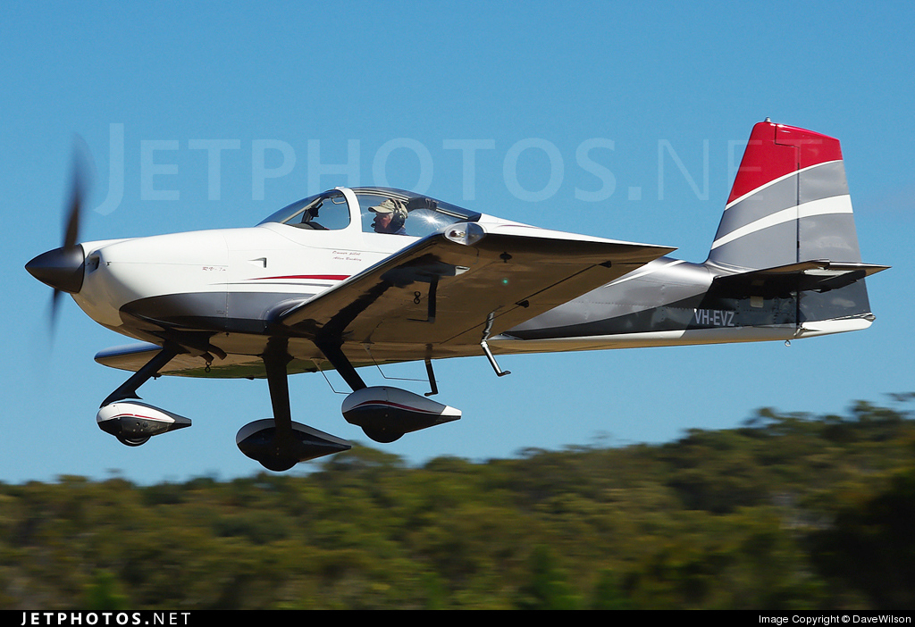 Photo of VH-EVZ Vans RV-7A by DaveWilson
