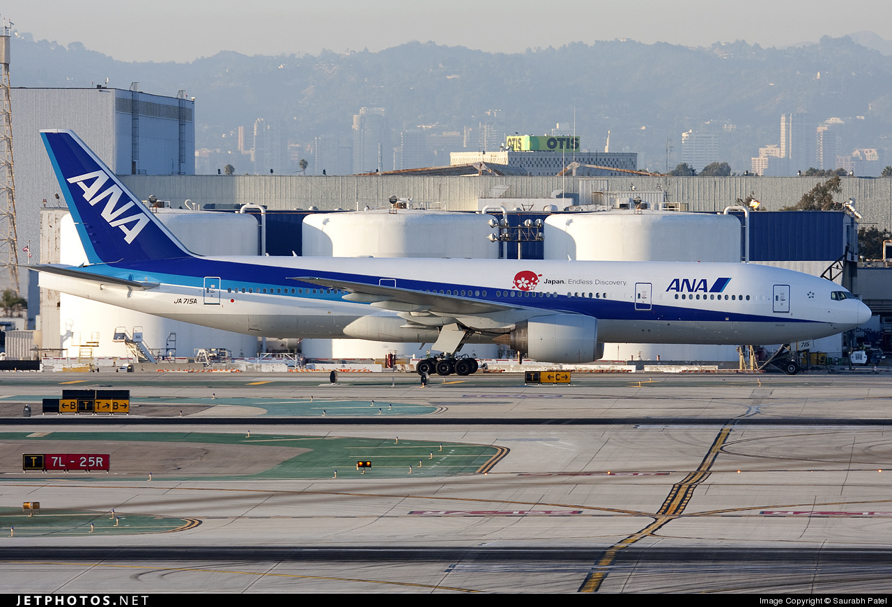 Photo of JA715A Boeing 777-281(ER) by Saurabh Patel