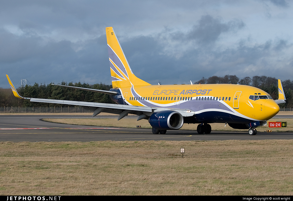 Photo of F-GZTC Boeing 737-73V by scott wright