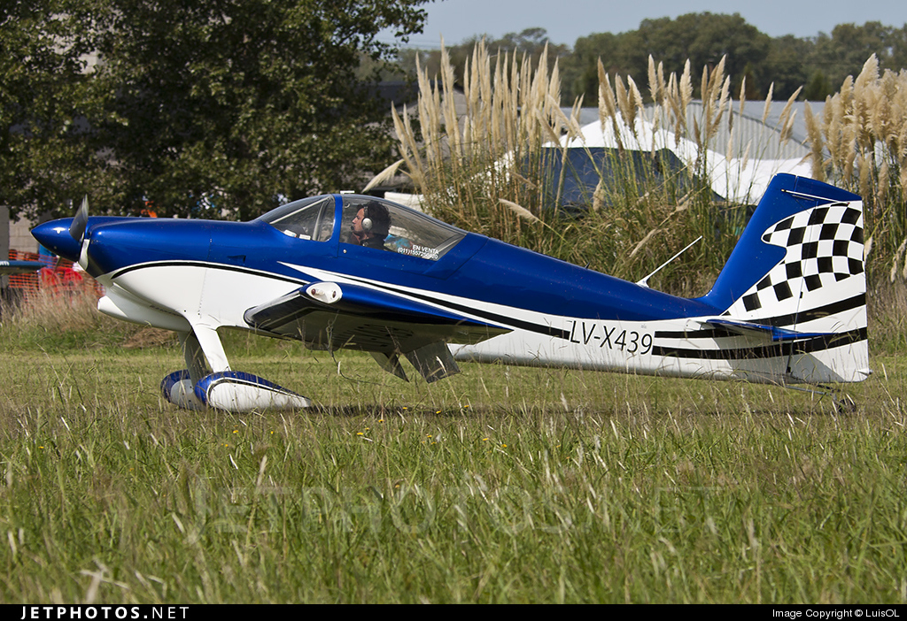 Photo of LV-X439 Vans RV-7 by LuisOL