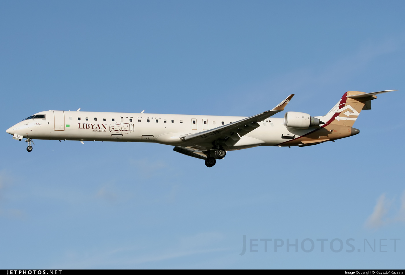 Photo of 5A-LAA Bombardier CRJ-900ER by Krzysztof Kaczala