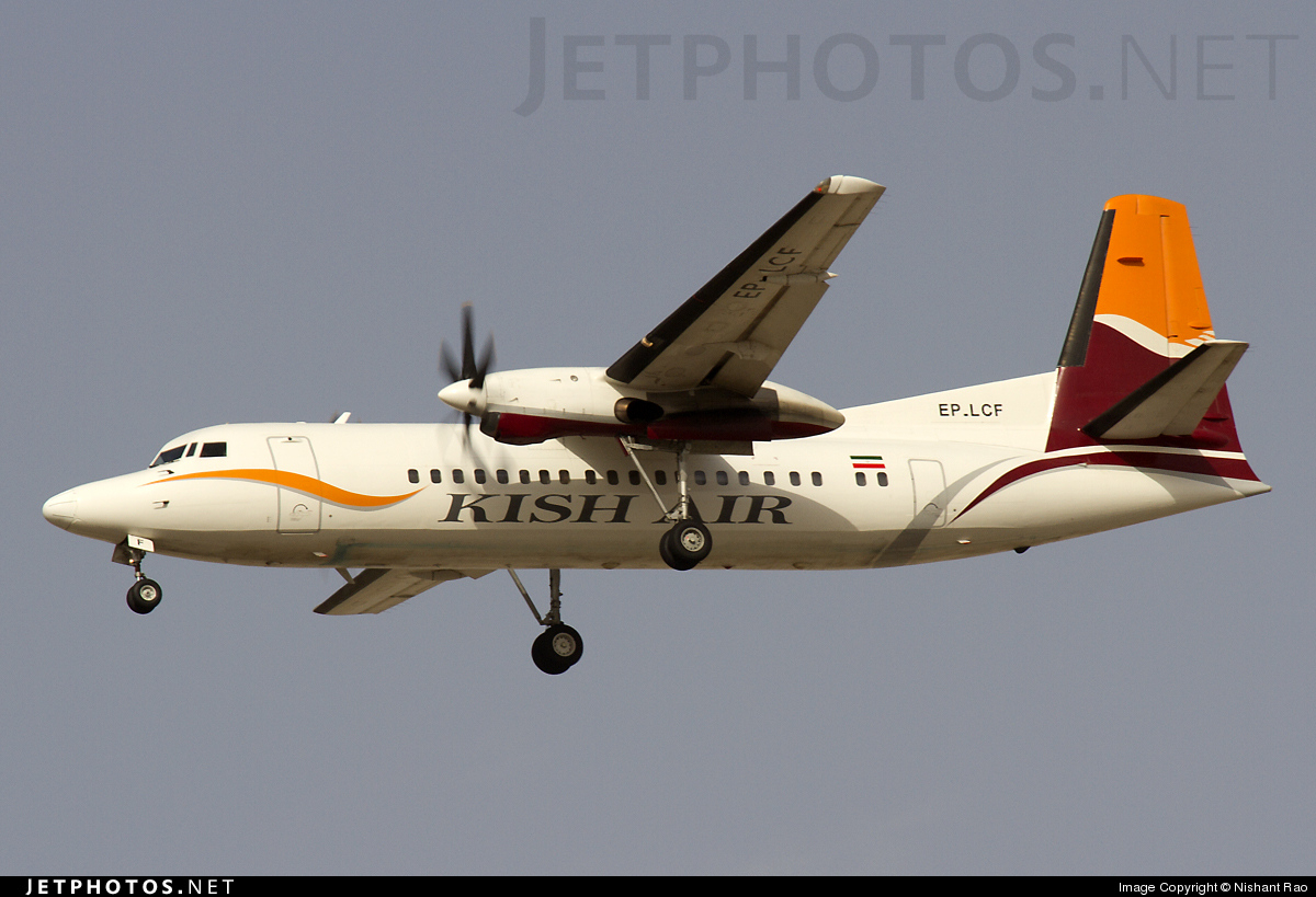 Photo of EP-LCF Fokker 50 by Nishant Rao