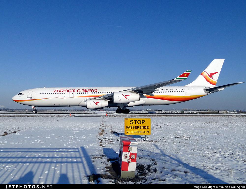 Photo of PZ-TCP Airbus A340-311 by Maurizio Dall'Agnol