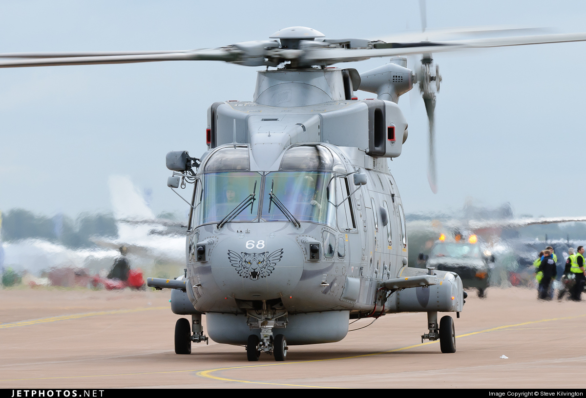 Photo of ZH860 Agusta-Westland Merlin HM.1 by Steve Kilvington