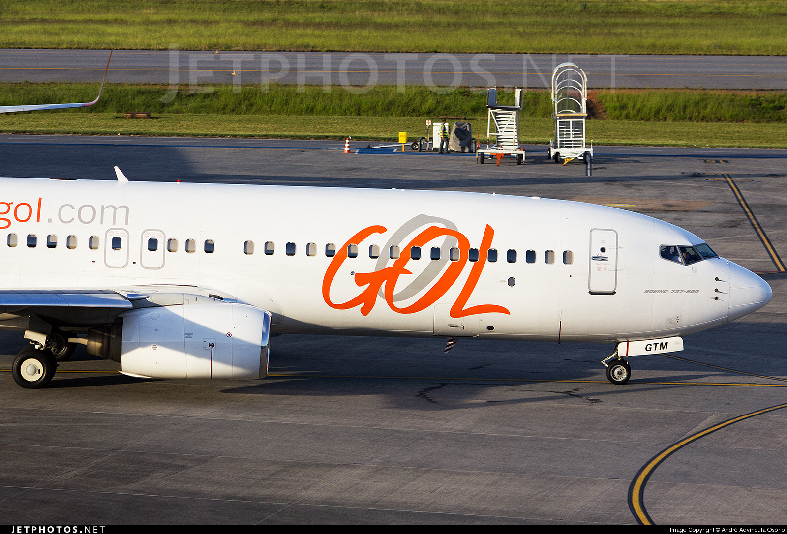 Photo of PR-GTM Boeing 737-8EH by André Advíncula Osório
