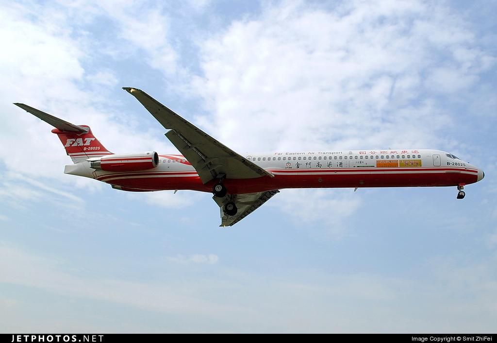 Photo of B-28025 McDonnell Douglas MD-83 by Smit ZhiFei