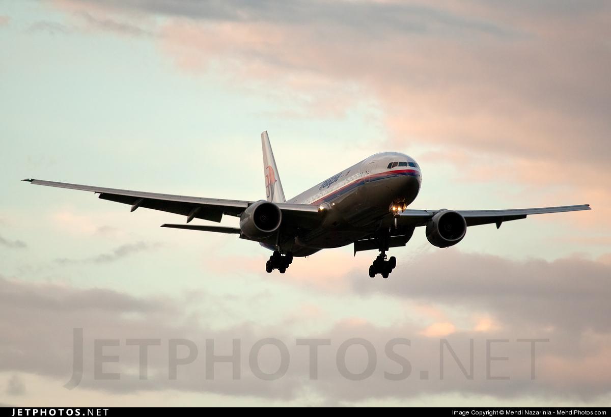 Photo of 9M-MRJ Boeing 777-2H6(ER) by Mehdi Nazarinia - MehdiPhotos.com