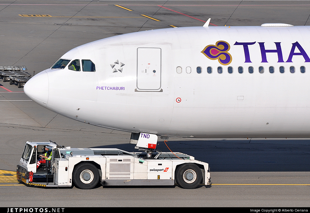 Photo of HS-TND Airbus A340-642 by Alberto Ceriana