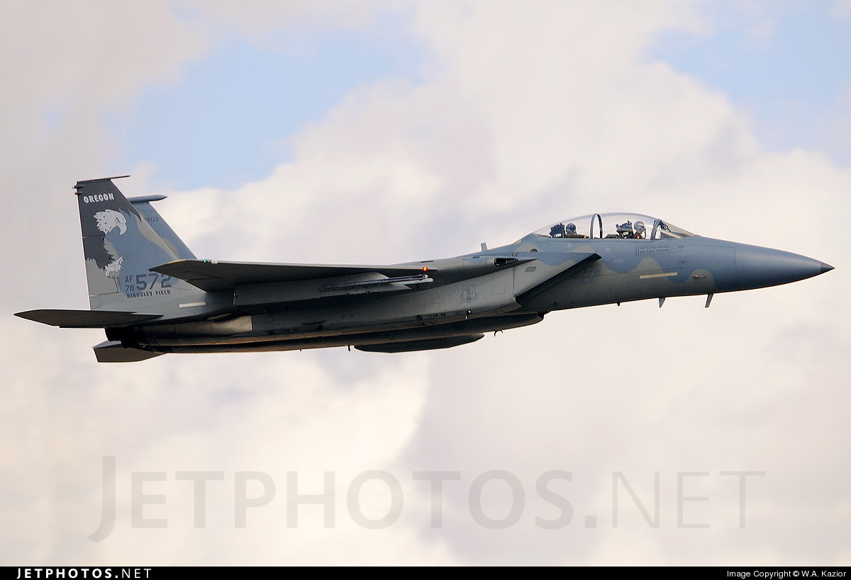 Photo of 78-0572 McDonnell Douglas F-15D Eagle by W.A. Kazior