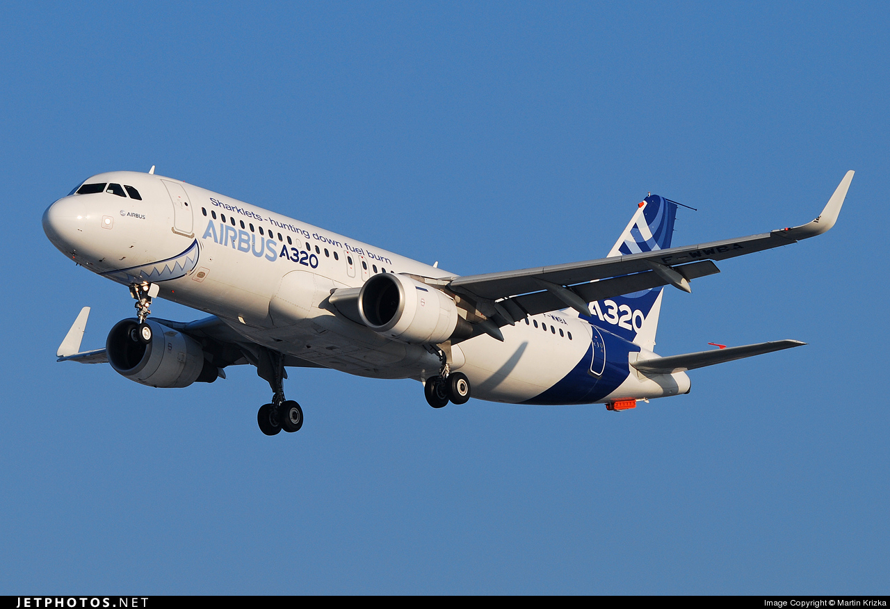 Photo of F-WWBA Airbus A320-111 by Martin Krizka