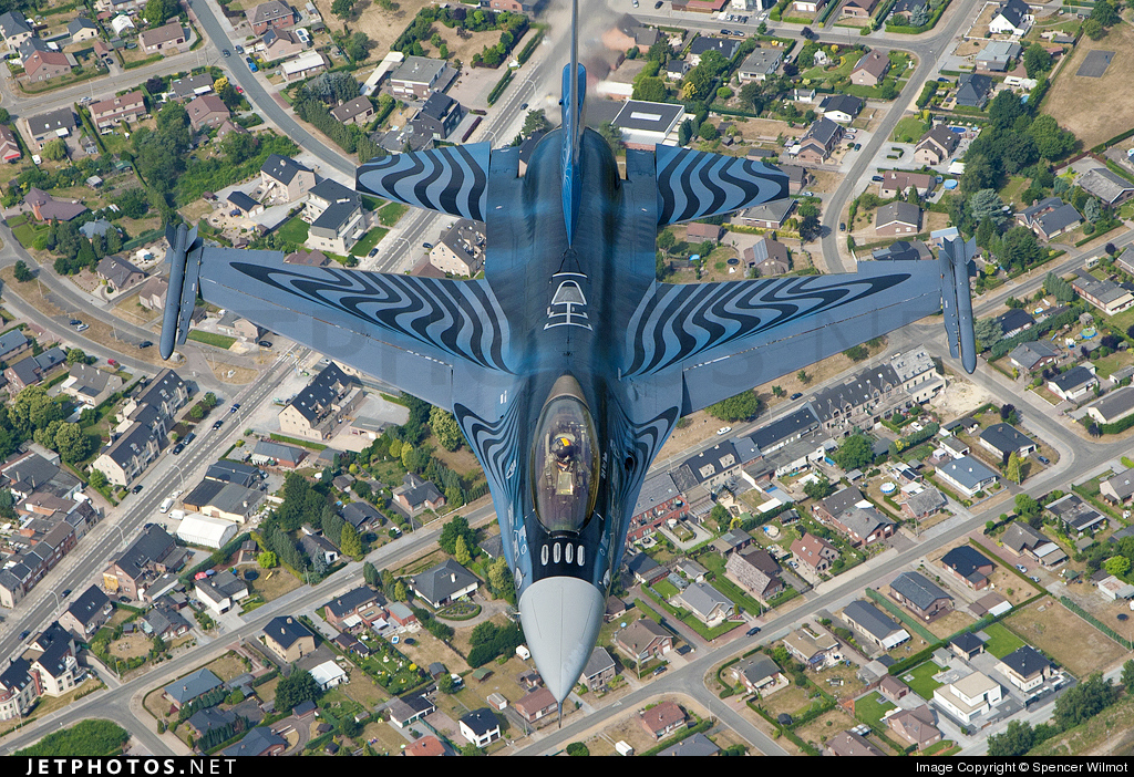 Photo of FA-110 General Dynamics F-16AM Fighting Falcon by Spencer Wilmot