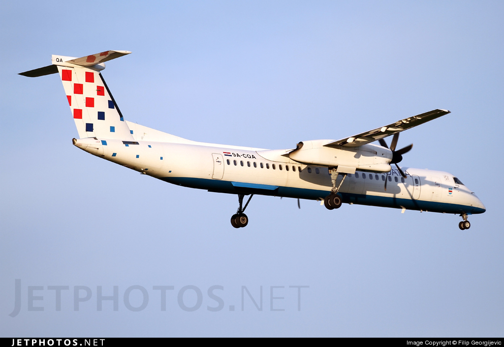 Photo of 9A-CQA Bombardier Dash 8-Q402 by Filip Georgijevic