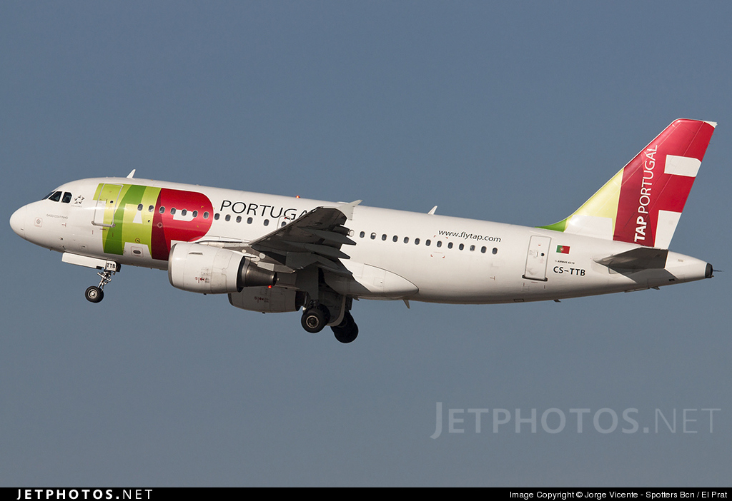 Photo of CS-TTB Airbus A319-111 by Jorge Vicente - Spotters Bcn / El Prat