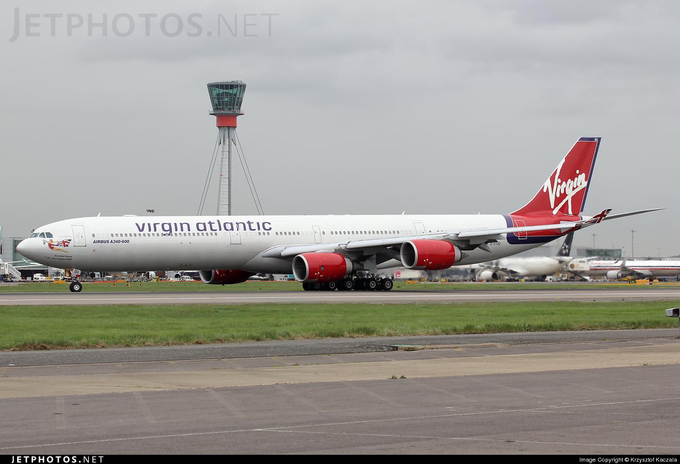 Photo of G-VYOU Airbus A340-642 by Krzysztof Kaczala