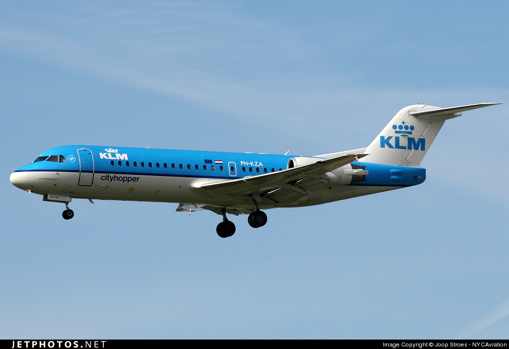 Photo of PH-KZA Fokker 70 by Joop Stroes - NYCAviation
