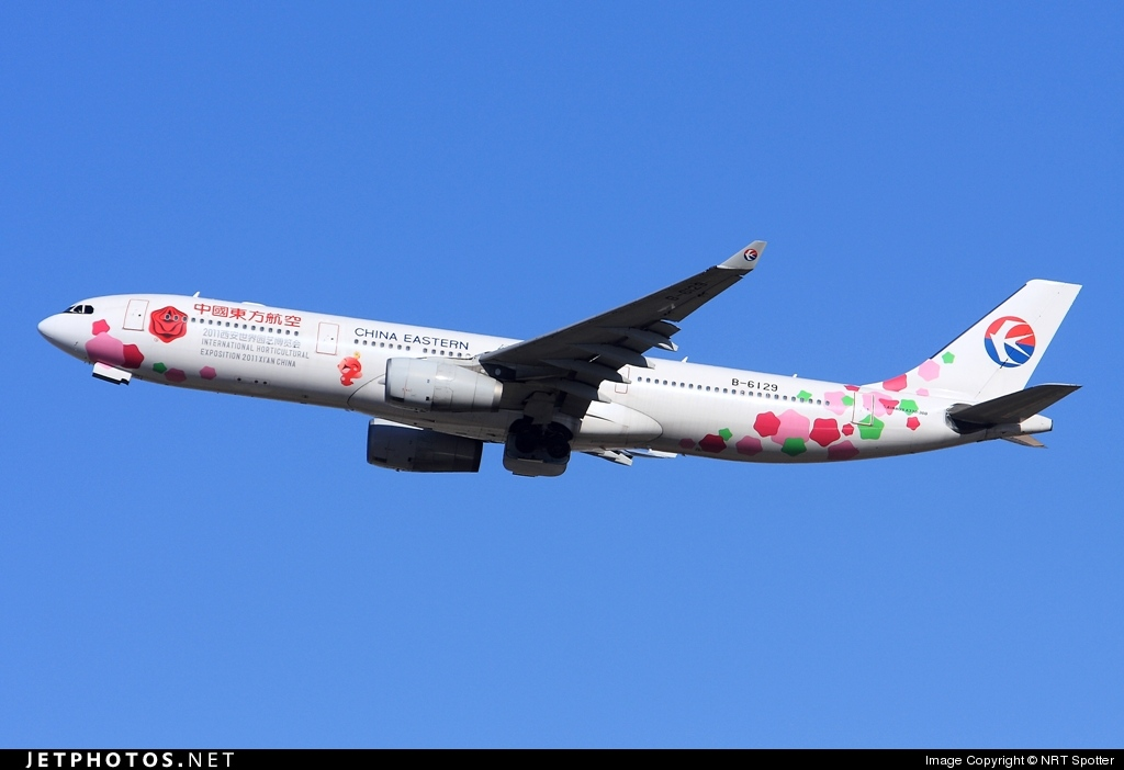 Photo of B-6129 Airbus A330-343 by NRT Spotter