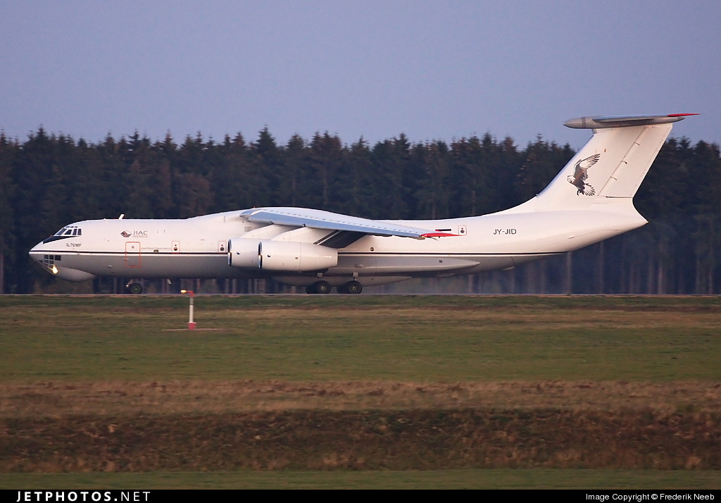 Photo of JY-JID Ilyushin IL-76MF by Frederik Neeb