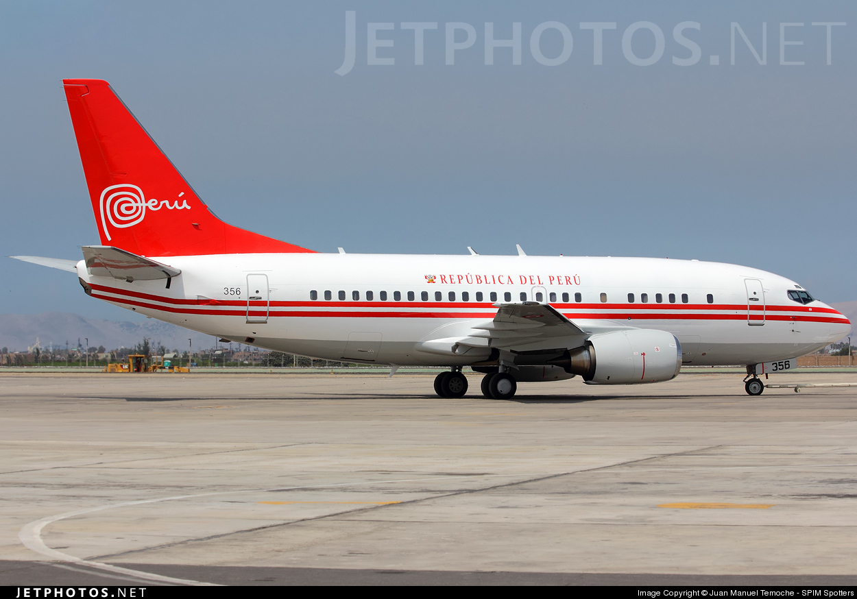 Photo of FAP356 Boeing 737-528 by Juan Manuel Temoche - SPIM Spotters