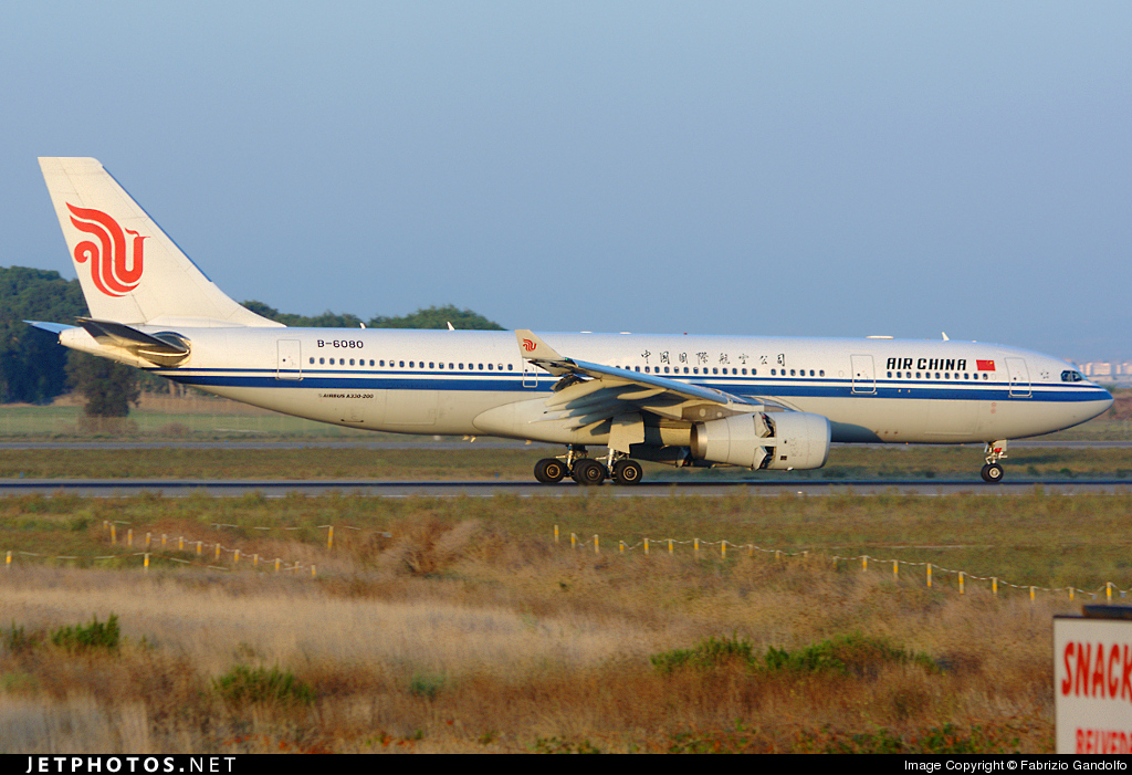Photo of B-6080 Airbus A330-243 by Fabrizio Gandolfo