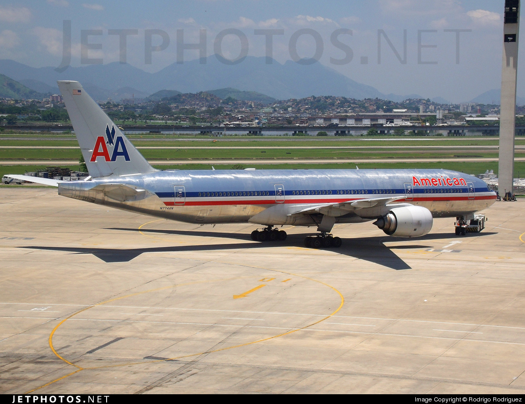 Photo of N774AN Boeing 777-223(ER) by Rodrigo Rodriguez