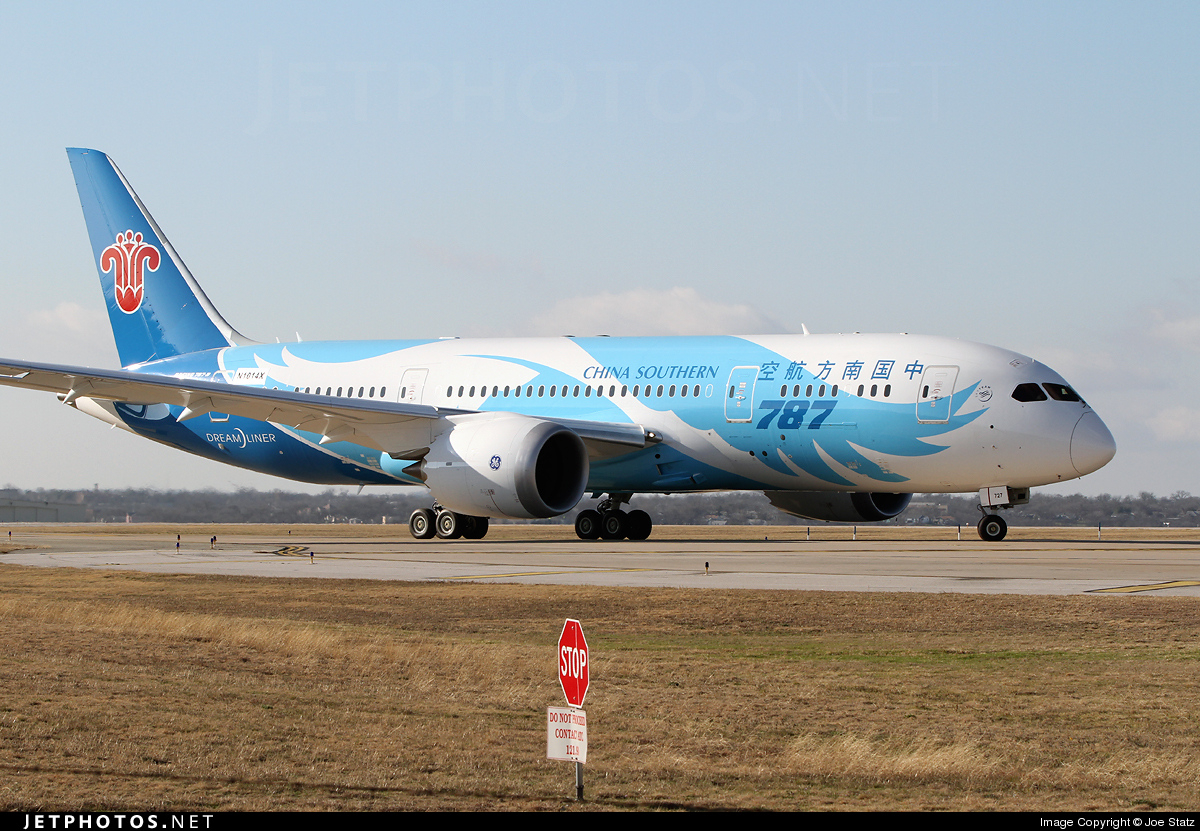 Photo of N1014X Boeing 787-8 Dreamliner by Joe Statz