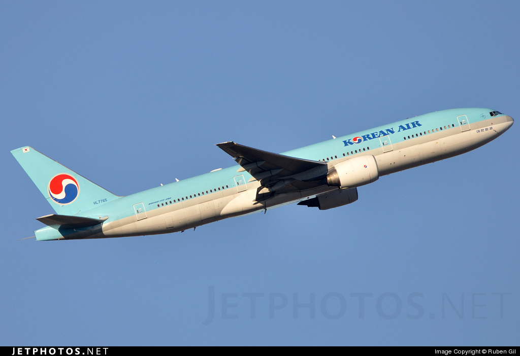 Photo of HL7765 Boeing 777-2B5(ER) by Ruben Gil