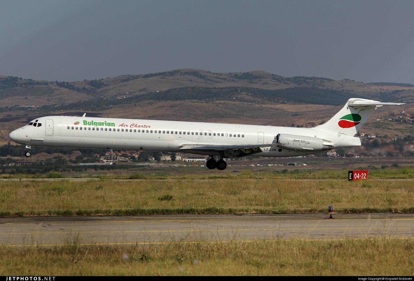 Photo of LZ-LDK McDonnell Douglas MD-82 by Krzysztof Scibiorek