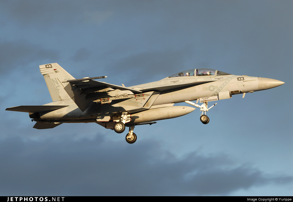 Photo of 166918 Boeing F/A-18F Super Hornet by Yurippe
