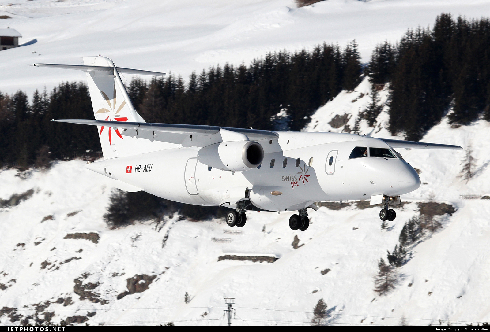 Photo of HB-AEU Dornier Do-328-300 Jet by Patrick Weis