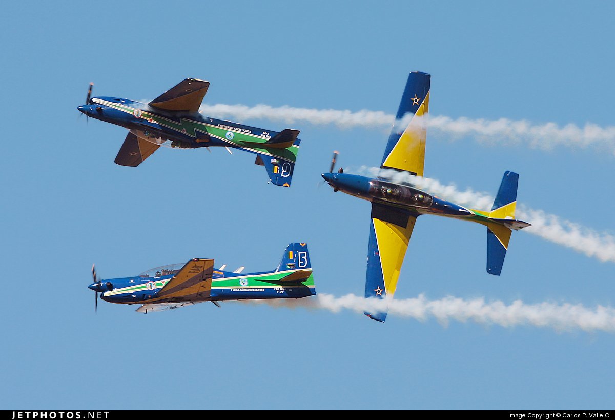Photo of FAB1434 Embraer T-27 Tucano by Carlos P. Valle C.