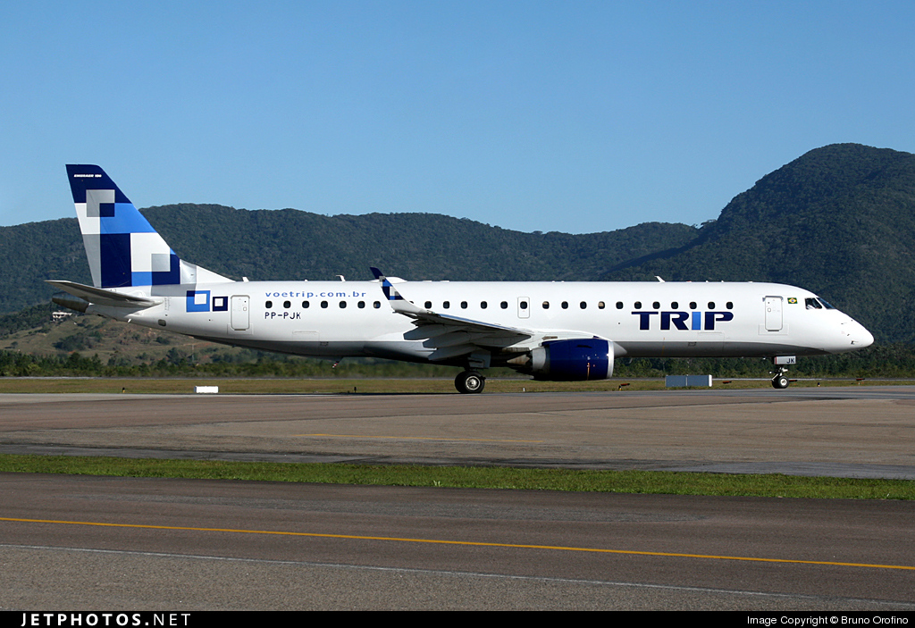 Photo of PP-PJK Embraer 190-100LR by Bruno Orofino