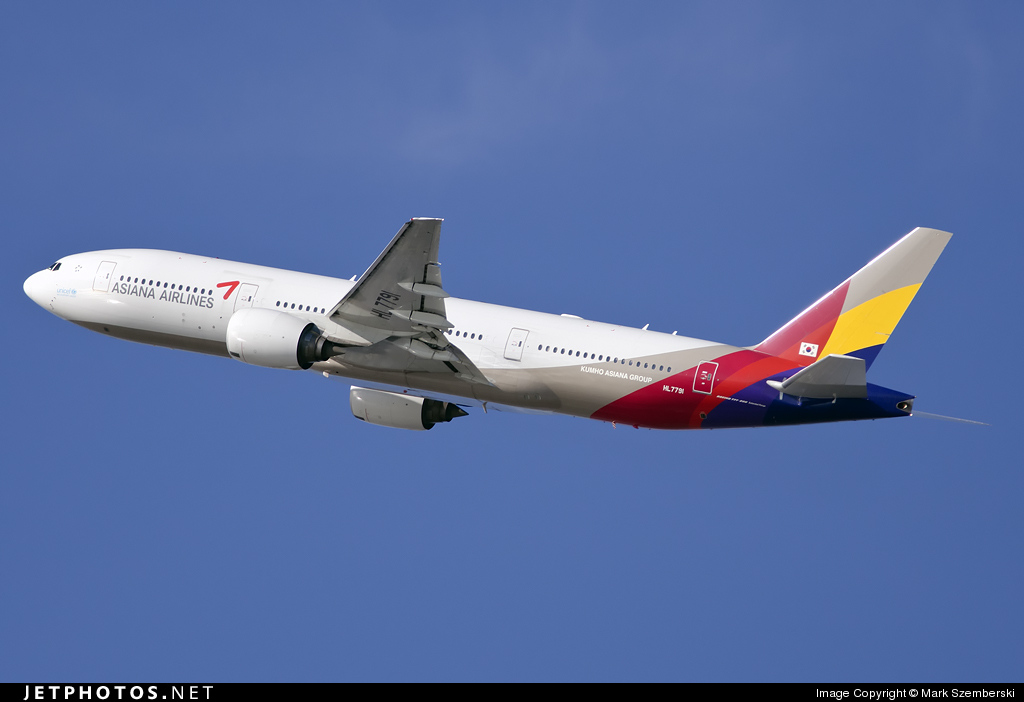 Photo of HL7791 Boeing 777-28E(ER) by Mark Szemberski