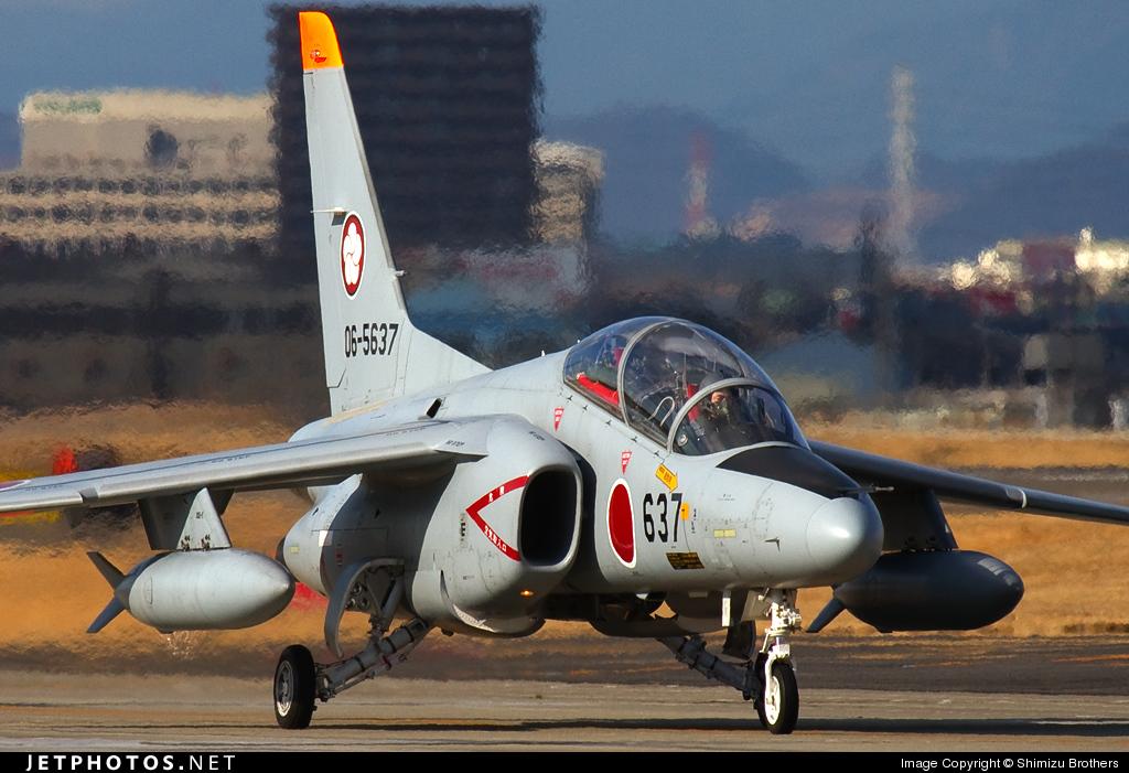 Photo of 06-5637 Kawasaki T-4 by Shimizu Brothers