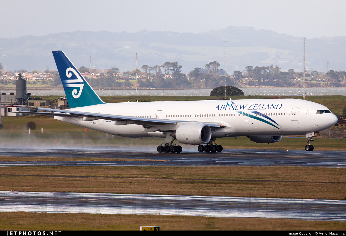 Photo of ZK-OKH Boeing 777-219(ER) by Mehdi Nazarinia - MehdiPhotos.com