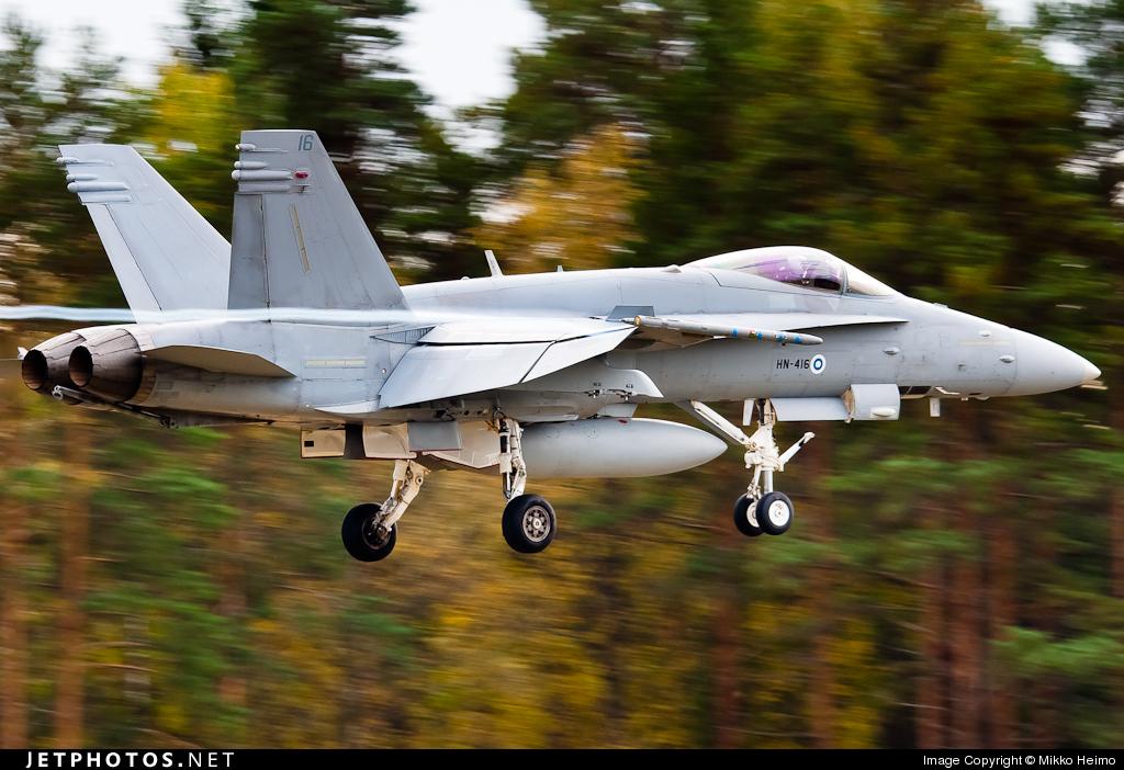 Photo of HN-416 McDonnell Douglas F-18C Hornet by Mikko Heimo