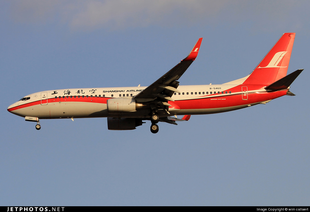 Photo of B-5460 Boeing 737-86D by wim callaert