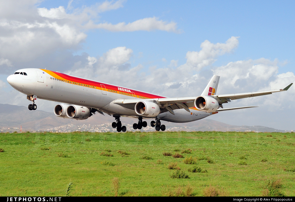 Photo of EC-LCZ Airbus A340-642 by Alex Filippopoulos - AirTeamImages
