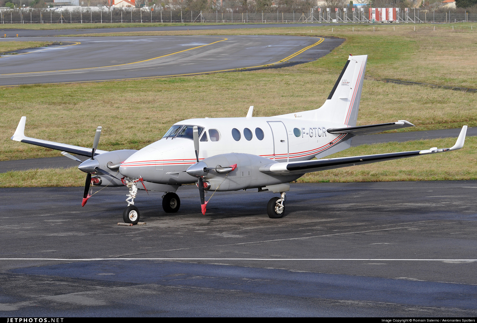 Photo of F-GTCR Beechcraft C90B King Air by Romain Salerno / Aeronantes Spotters