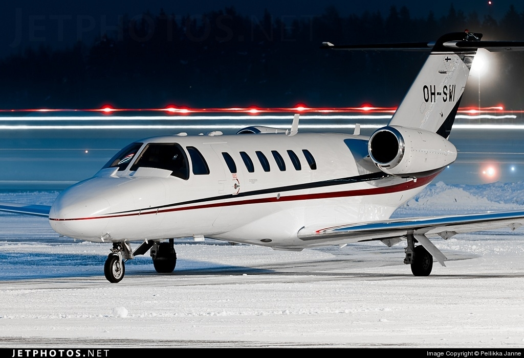 Photo of OH-SWI Cessna 525A CitationJet 2 Plus by Pellikka Janne