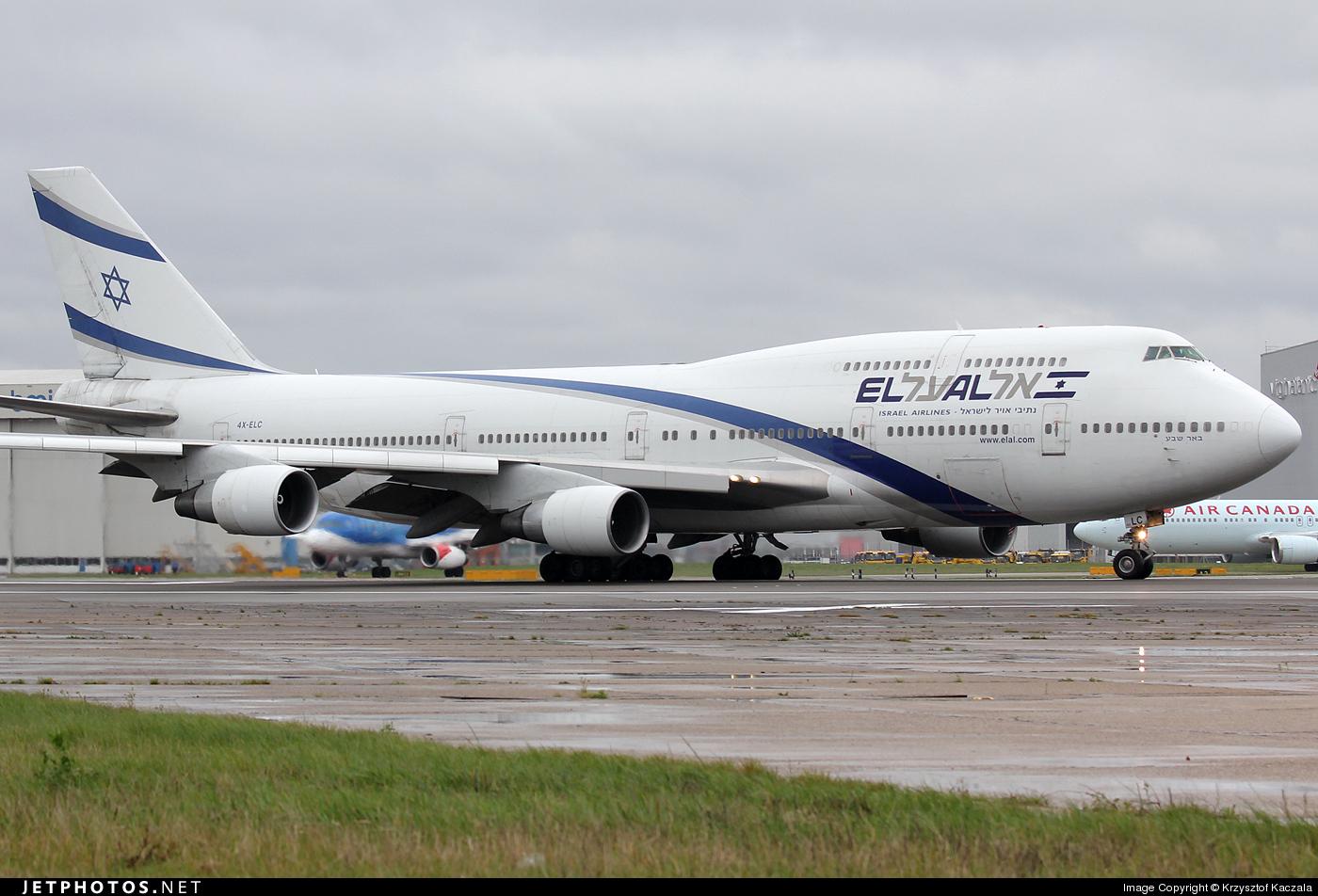 Photo of 4X-ELC Boeing 747-458 by Krzysztof Kaczala