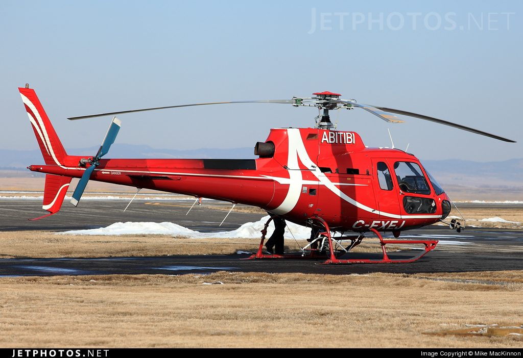 Photo of C-FXEJ Aérospatiale AS 350BA Ecureuil by Mike MacKinnon