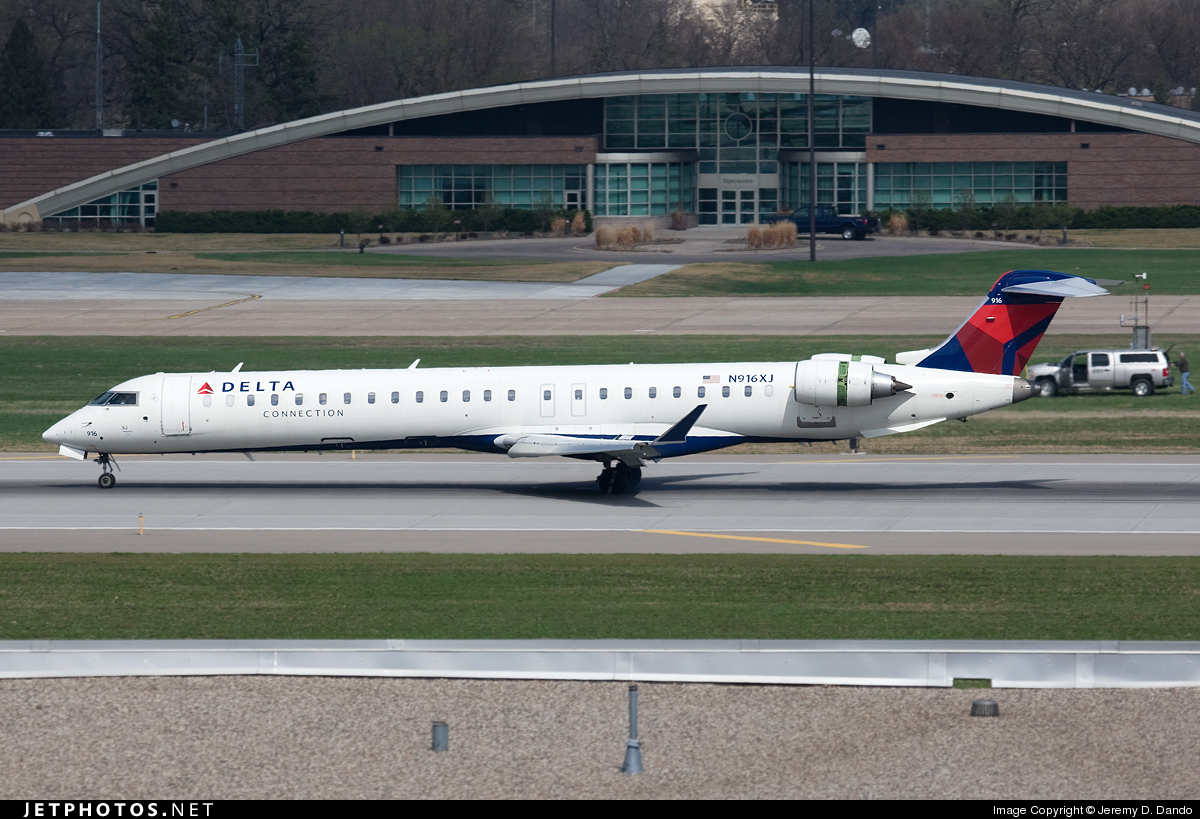 Photo of N916XJ Bombardier CRJ-900ER by Jeremy D. Dando