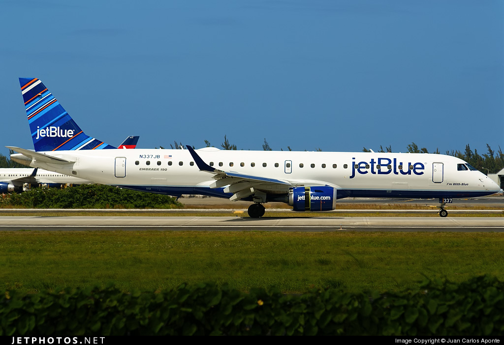 Photo of N337JB Embraer 190-100IGW by Juan Carlos Aponte