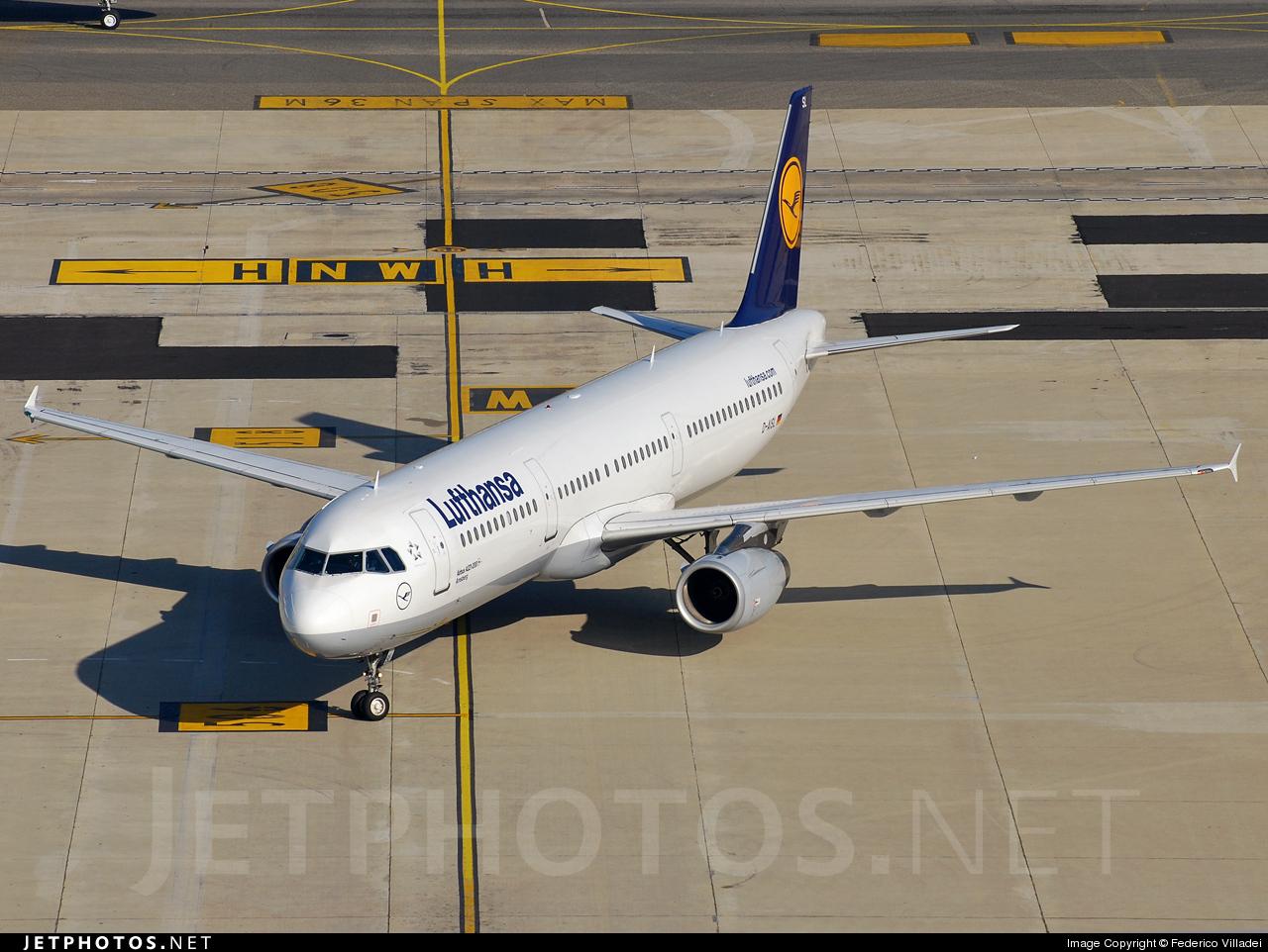 Photo of D-AISL Airbus A321-231 by Federico Villadei