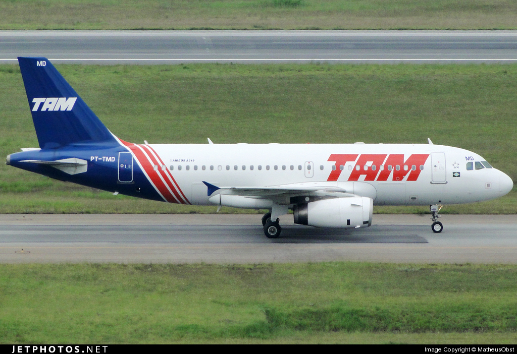 Photo of PT-TMD Airbus A319-132 by MatheusObst